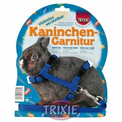 Postroj s vodítkem nylon, zakrslý králík
