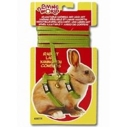 Postroj + vodítko pro králíky