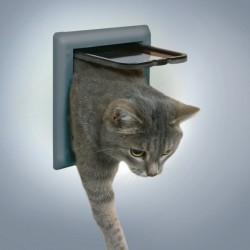 Průchozí dvířka pro kočky FreeCat DeLuxe, šedá