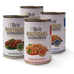 Brit Boutiques Gourmandes Rabbit True Meat Bits 400g