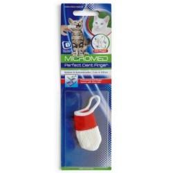 Zubní kartáček na prst MICROMED pro kočku