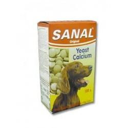 Vitamíny SANAL calcium pro psy